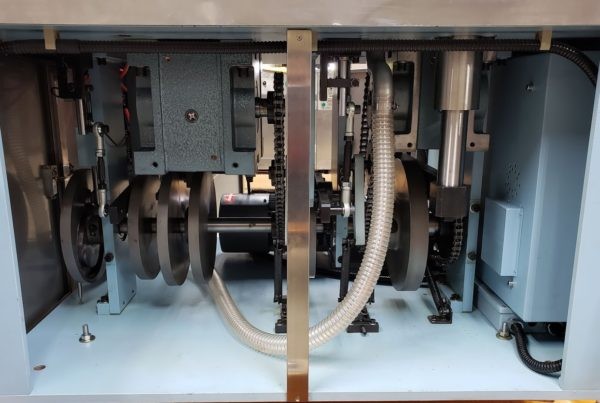 Bottom of TES 1200A Machine