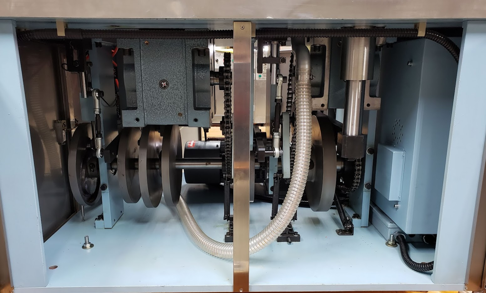 Bottom of TES 1200A Machine