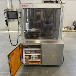 Bosch 1500 Capsule Filler front view