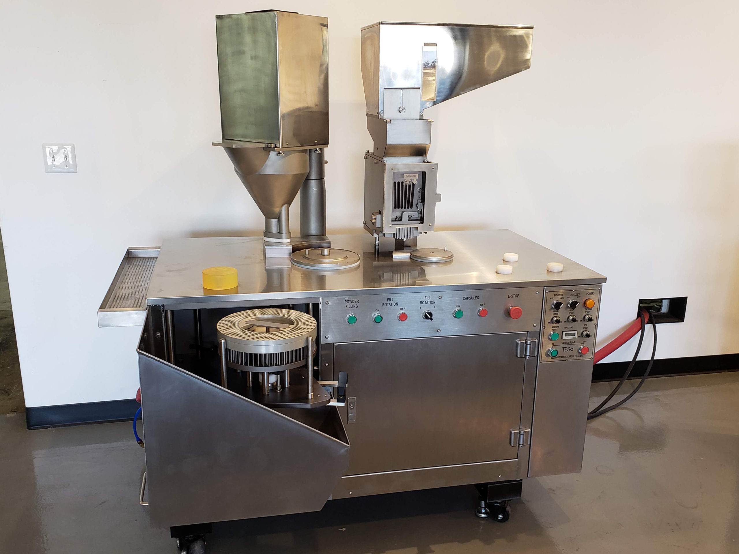 TES 5 Semi Automatic Capsule Filler Overview