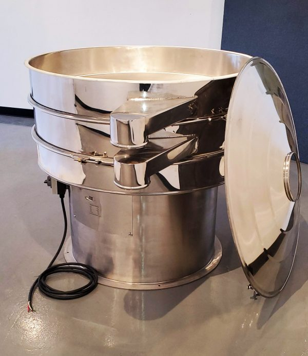 TES 48 Sifter with lid off