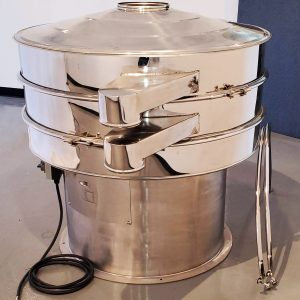 TES 48 sifter with lid on